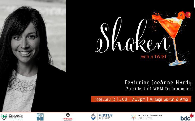 Shaken with a Twist (YXE)|WESK – Ladies Entrepreneurs ofSaskatchewan
